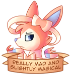 Really Mad and Slightly Magical by LittlePinkAlpaca
