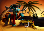 Fanart - MLP. Nessie the Pirate. by jamescorck