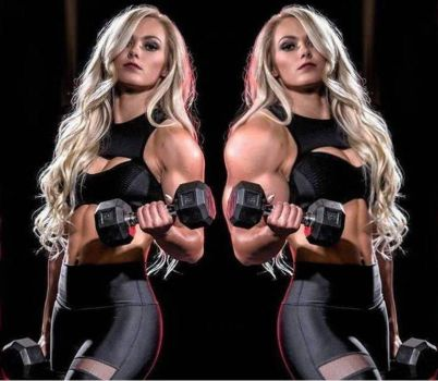 Super Blonde Biceps Transformation 2 by Turbo99