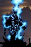 Blackbolt inked and colored by butones