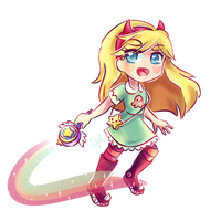 Star Butterfly (Star vs the Forces of Evil) by CairolingH