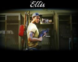 L4D2 Ellis wallpaper by vyvyan1rick