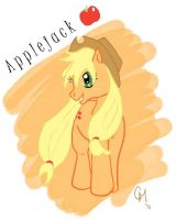 Applejack by Babileilei