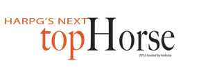 HARPG's Next Top Horse Logo by AliceYung