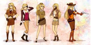Claudia - Character Outfits by Lionel23