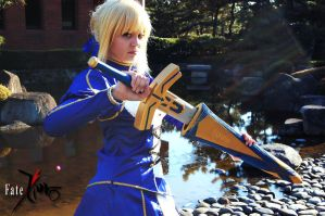 Saber::And so it begins by YouseiCosplay
