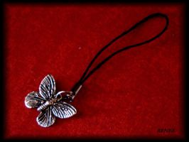 Butterfly cellural phone jewel by jasmin7