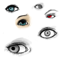 Quick eye ref by anxiousArtist