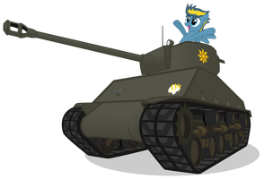 BolterDash Finds an 'Easy 8' Sherman by MrLolcats17