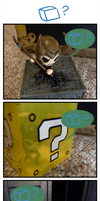 Loki Cube Comic by caycowa