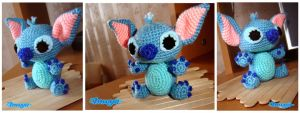 Stitch Crochet doll by imuya
