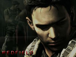 Chris Redfield by kaiserfly