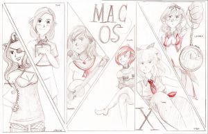 Mac OSX-tans by BellaCielo