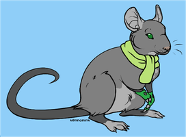 Erich as rat by moonofheaven1