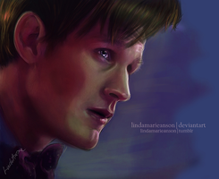 The 11th Doctor by LindaMarieAnson