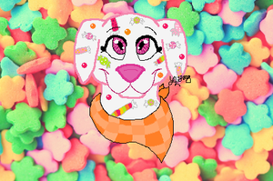 Webkinz Candy Puppy by YellowLab8078