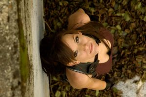 TRU Lara Croft - Looking Up by JennCroft