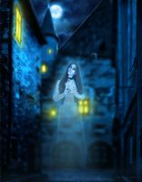Lonely Ghost by IvannaDark