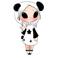 Panda Chibi Adoptable by Ssu-Chan