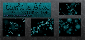 Light's blue textures pack x4 by RanmaGirlSaotome