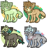 adoptables - closed by space-plants