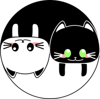 YinYang Cats by sigroneta