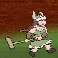 Val Bronzebottom Croquet Fan Art by The-Author-M