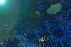 In the Deep Blue by GrahamSym