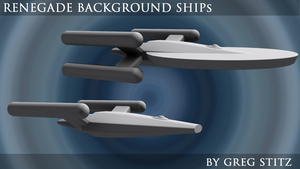 Renegade Background Ships by GregStitz