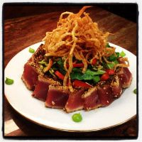 Ginger Seared Ahi Salad by Iamajahaha