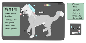 |Vincent reffy| Bio included| by LadyPuncake