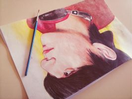 Tao in watercolors by TheNomNomApple