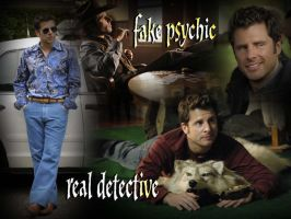 James Roday as Shawn Spencer by Gala000085