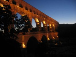 Pont du Gard by brillante