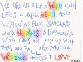 Weird Love by Dr. Seuss by GlitterPrincess11