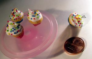 Miniature Cupcakes by ChocolateDecadence