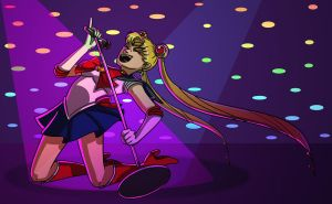Sailor Moon Rockstar by Shannon-Long