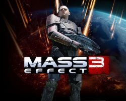 Mass Effect 3 by ToadyMcToadster