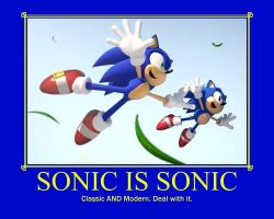 Sonic: One and the Same. by UltimateGameMaster