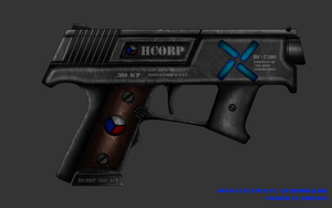 Collab: Fictional Firearm: HC-7380 Compact Pistol by CzechBiohazard