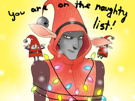 RotG:  U R on da naughty list by hyokka