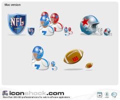 NFL Web Icons by Iconshock