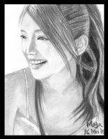 And She Smile... by m-ayu