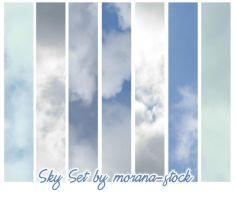 Sky Set by morana-stock