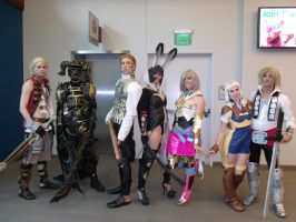 Final Fantasy XII Group by Moogleborg