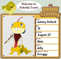 PKMN Crossing Application - Johnny Pollack by MetalShadowOverlord
