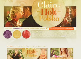 Claire Holt Layout by lovegonewrong