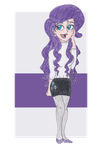 MLP FiM Humans: Rarity by TheGirlOnXboxLive