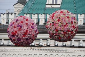 Flower ball 2 by Panopticon-Stock