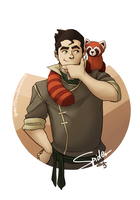 Bolin and Pabu by spider999now